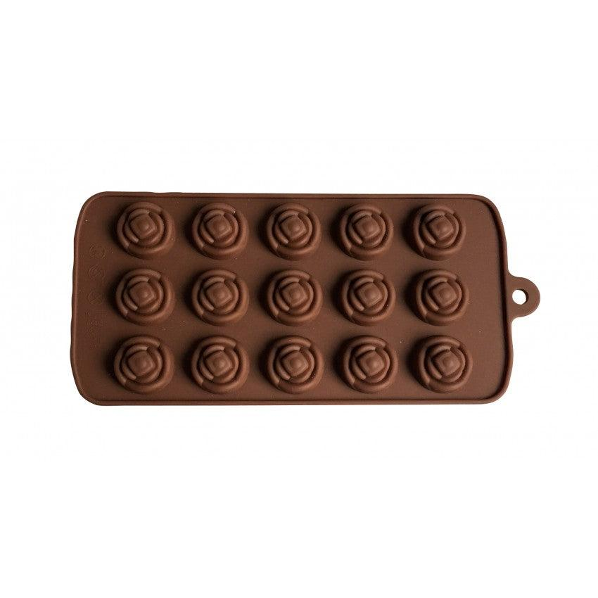 La Patisserie Cs Ch Fl Flower Shape Silicone Chocolate Mold Nella Online