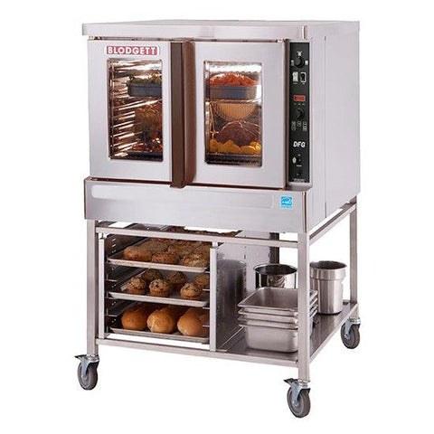 "Blodgett DFG-100-ES 38"" Single Deck Gas Convection Oven with LED Display - 45,000BTU"