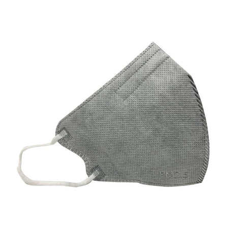 PM2.5 5 Layers Filter Protective Anti-Pollution Face Mask - Gray - 5/Pack