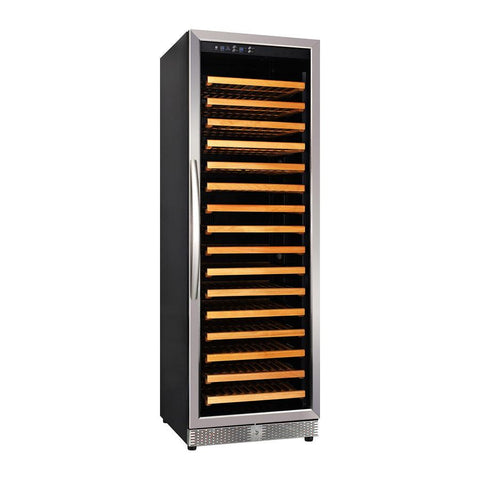 "Eurodib USF168S 23.4"" Single Temperature Wine Cabinet - 165 Bottles"