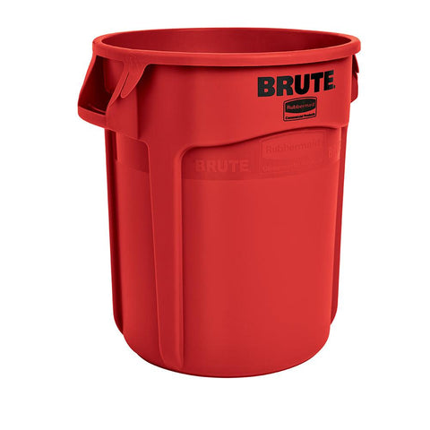 Rubbermaid FG262000RED 20 Gallon Commercial Trash Can - Red