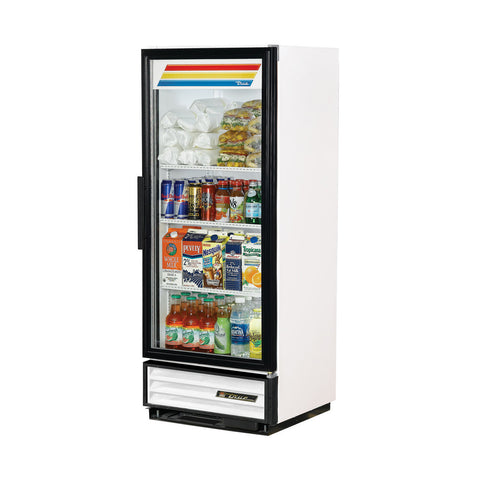 TRUE GDM-12-HC-LD WHITE REFRIGERATED GLASS DOOR MERCHANDISER