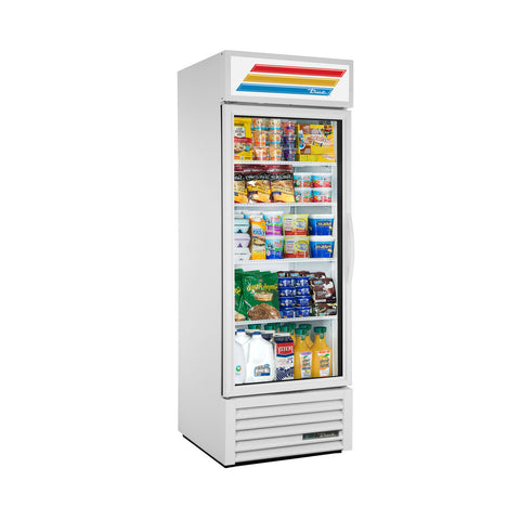 TRUE GDM-23-HC~TSL01 WHT LH 1 DOOR MERCHANDISER