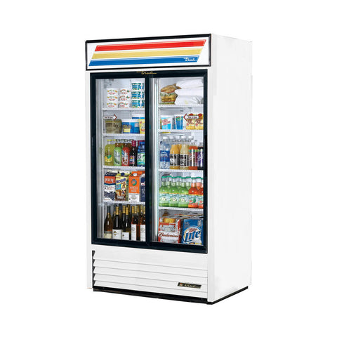 TRUE GDM-37-HC-LD 2 DOOR MERCHANDISER