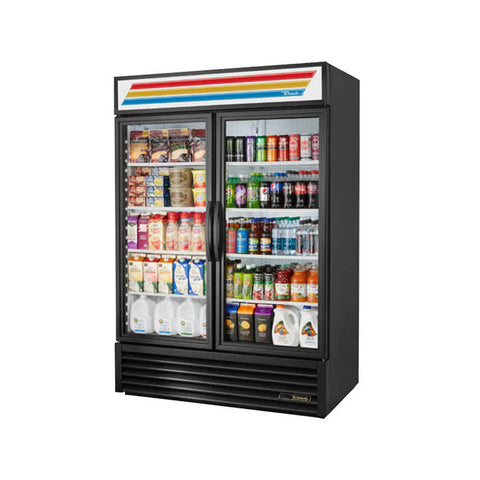 TRUE GDM-49-HC~TSL01 BL 2 DOOR MERCHANDISER