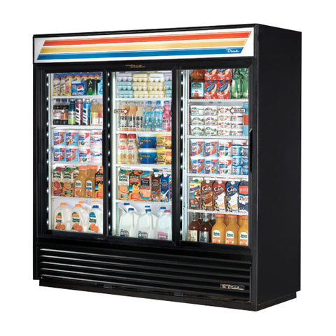 TRUE 3 DOOR MERCHANDISER - GDM-69-LD