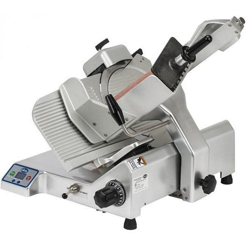 "Globe S13A 13"" Manual Heavy-Duty Meat Slicer - 1/2 hp - 1 1/8"" Slicing Width"