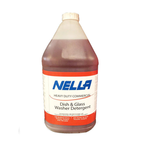 Nella 4L Commercial Dish & Glass Washer Detergent