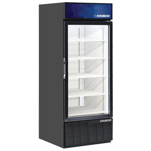 "Habco ESM28 30"" 5-Shelf Single Door Cold Space Merchandiser"