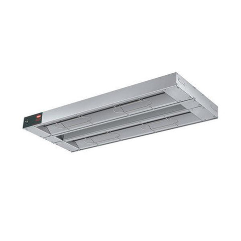 "Hatco GRA-60D 60"" Glo-Ray Dual Aluminum Infrared Strip Heater - 2,100W"