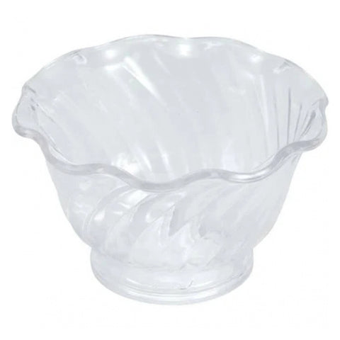 Winco ICC-5C 5 Oz. Clear Ice Cream Dish