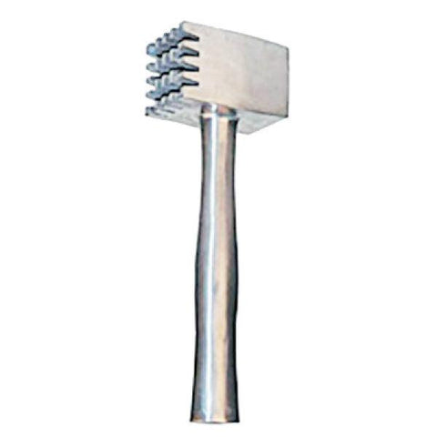 "Johnson-Rose 3014 13"" Two-Sided Aluminum Meat Tenderizer"