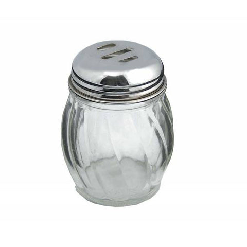 Update International SK-ROT 6 Oz. Glass Cheese Shaker