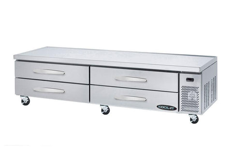 "Kool-It 96"" Refrigerated Chef Base - KCB-96-4M"