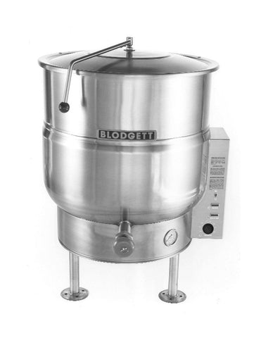 Blodgett KLS-30E 30-Gallon Stationary Tri-Leg Steam Jacketed Electric Kettle - 208V, 3 Phase - Nella Cutlery Toronto