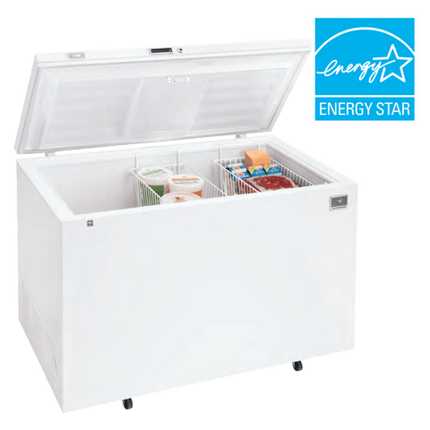Kelvinator KCCF160QW 16 Cu. Ft. Chest Freezer with Mechanical Control - 1/5 hp