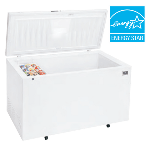 Kelvinator KCCF220QW 22 Cu. Ft. Chest Freezer with Mechanical Control - 1/4 hp