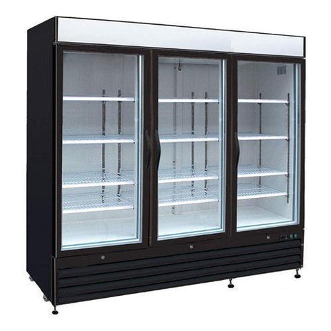KOOL-IT 3 DOOR MERCHANDISER - FREEZER - KGF-72 - Nella Online Toronto