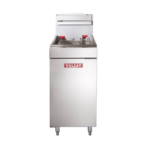 VULCAN LG500 NATURAL GAS FLOOR FRYER