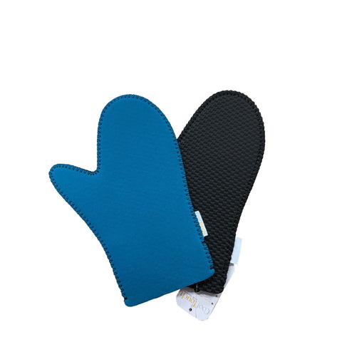 "Le Cuistot CT-S-B 11.5"" Cool-Touch Blue Oven Mitt"