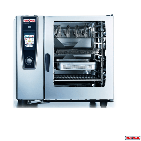 RATIONAL SELFCOOKINGCENTER 5 SENSES COMBI OVEN - MODEL SCC 102E