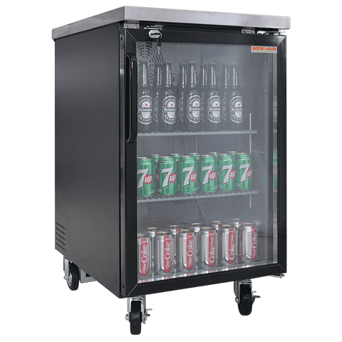 "New Air NBB-23-SG 23"" Back Bar Refrigerator"