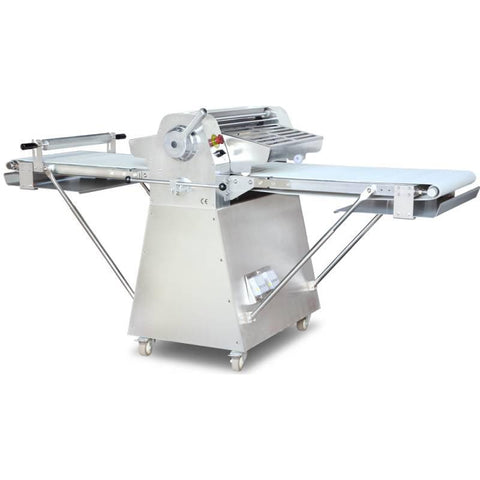 Nella Stainless Steel Floor Model Dough Sheeter - 44135