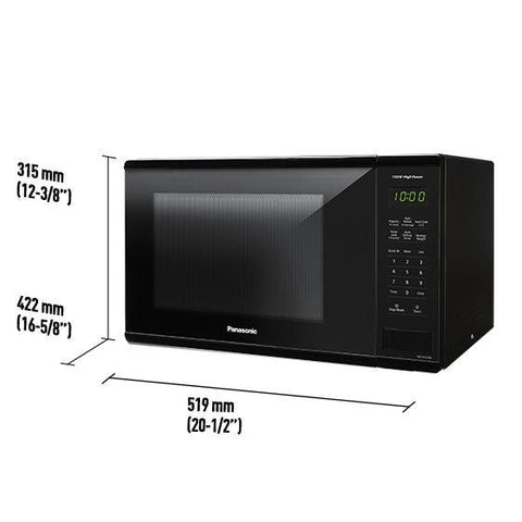 Panasonic NN-SG626B 1.3 cu.ft Mid-Size Digital Oven with Touch Pad - 120V/1100W