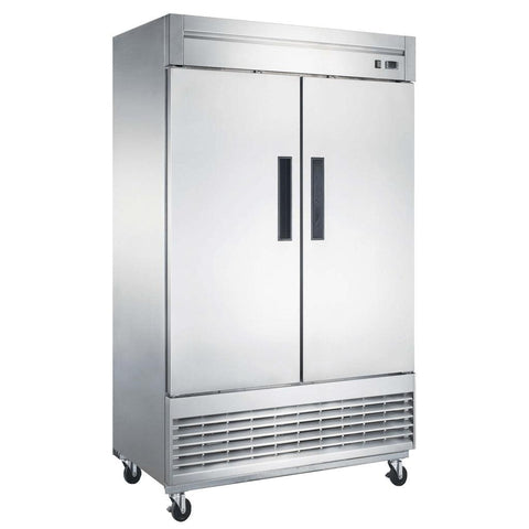 New Air NSR-115-H 55″ Two Door Solid Reach In Refrigerator