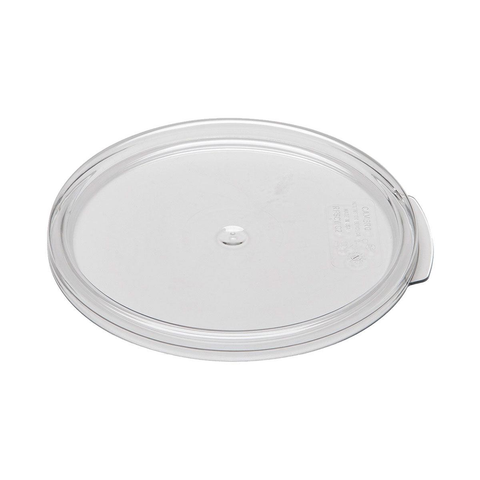Cambro RFSCWC2135 Camwear Clear Round Lid for 2 and 4 Qt. Containers