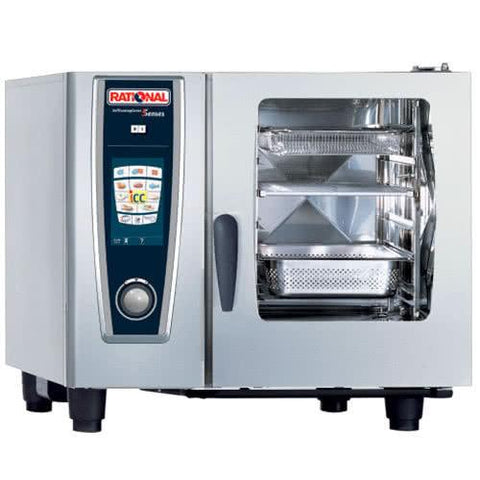 RATIONAL SELFCOOKINGCENTER 5 SENSES COMBI OVEN - MODEL SCC 61E
