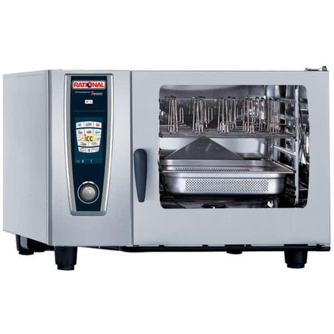 RATIONAL SELFCOOKINGCENTER 5 SENSES COMBI OVEN - MODEL SCC 62E