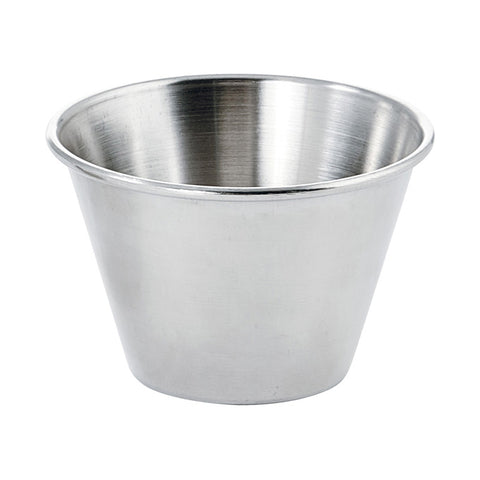 Winco SCP-40 4 Oz. Stainless Steel Sauce Cup