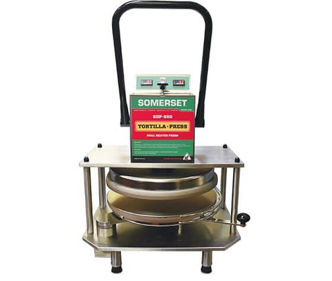 "Somerset SDP-850 18"" Dough Press - 1000 Pieces/Hour"
