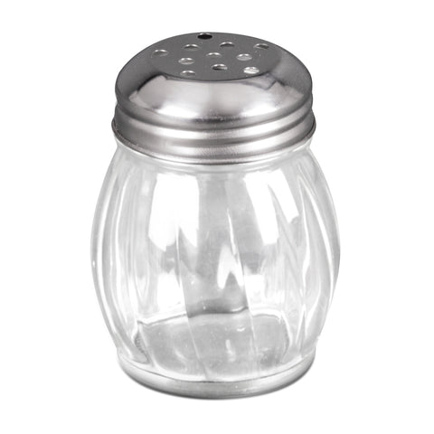 Update International SK-RPF 6 Oz. Glass Cheese Shaker