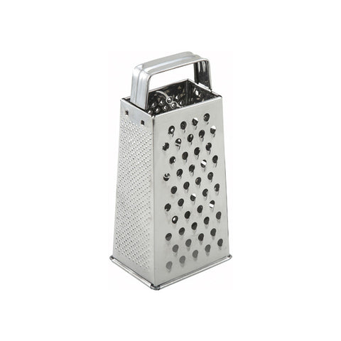 "Winco SQG-1 9"" 4-Sided Tapered Grater"
