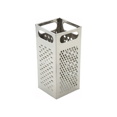 "Winco SQG-4 9"" 4-Sided Box Grater"