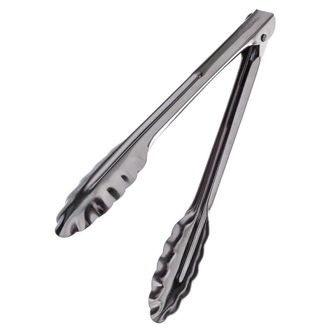 "Update International ST-12HD/CS 12"" Heavy-Duty Spring Tongs"