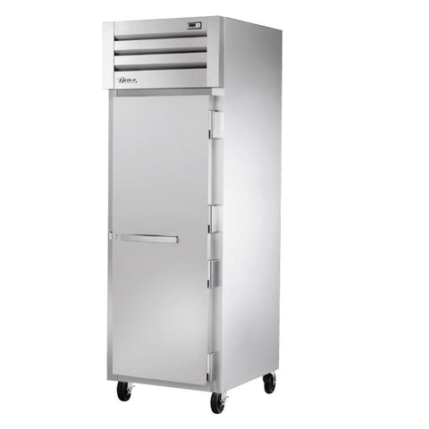 "True STG1R-1S-HC 27.5"" Reach-In Solid Swing Door Refrigerator"