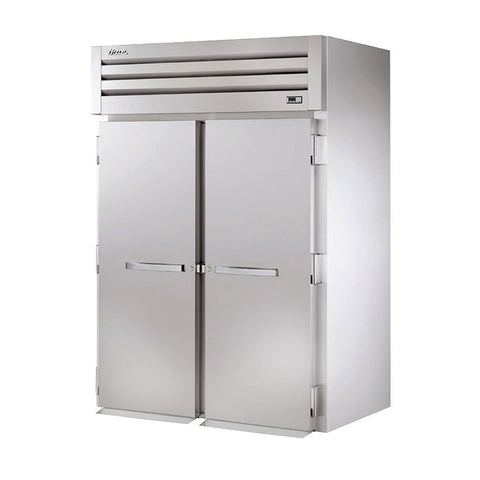 "True STR2HRI-2S 68"" Roll-In Solid Swing Door Holding Cabinet - 4000W"