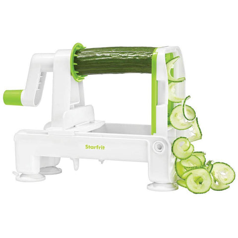 Starfrit Foldable Spiralizer - White