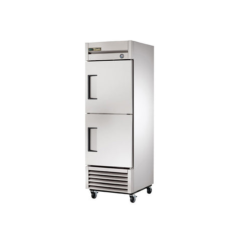 "True T-23-2-HC 27"" Reach-In Solid Half Swing Door Refrigerator"