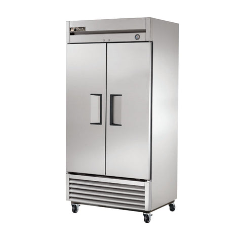 TRUE REACH IN SOLID 2 DOOR REFRIGERATOR - T-35 - Nella Cutlery Toronto