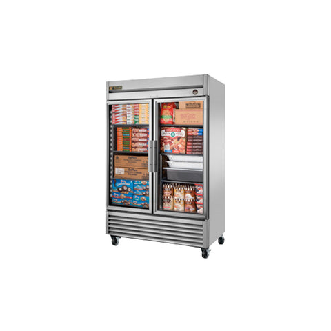 TRUE REACH IN 2 DOOR FREEZER - T-49FG-LD