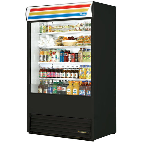 "True TAC-48~TSL01 48"" Air Curtain Refrigerated Merchandiser"