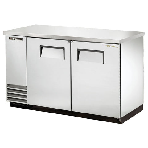 TRUE 2 DOOR BACK BAR COOLER - TBB-2-S