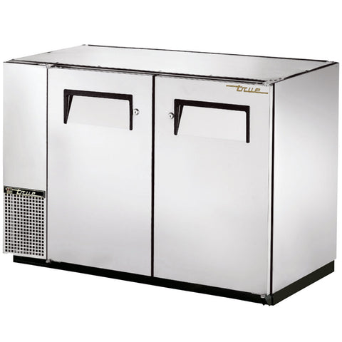 TRUE 2 DOOR BACK BAR COOLER - TBB-24GAL-48-S