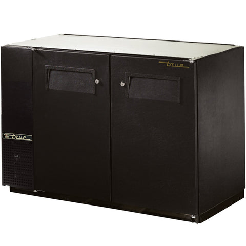TRUE 2 DOOR BACK BAR COOLER - TBB-24GAL-48