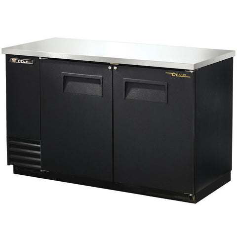 TRUE 2 DOOR BACK BAR COOLER - TBB-2