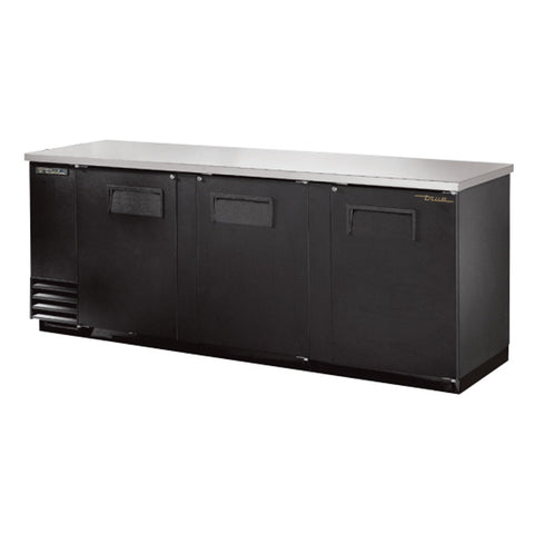 TRUE 3 DOOR BACK BAR COOLER - TBB-4 - Nella Cutlery Toronto